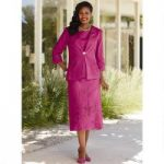 Color Closeout Embroidered 3-Pc. Skirt Set by EY Boutique