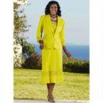 Color Closeout Coastal Linen 3-Pc. Jacket, Tank & Skirt Set by EY Signature