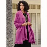 Color Closeout Fleece Shawl by Studio EY