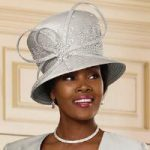 Lavish Lace Church Hat by Luxe EY