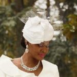 Ruffled Church Hat by EY Boutique