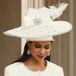 First Tier Church Hat by Lisa Rene Black Label