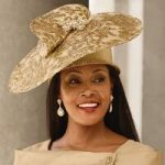 Precious Elegance Church Hat by Lisa Rene Black Label