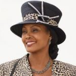 Leopardess Church Hat by EY Boutique