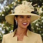Elegant Ambience Church Hat by EY Signature