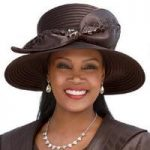 Lacy Laser Church Hat by EY Boutique