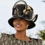 Today's Lace Church Hat by Champagne, Italy
