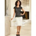 Lacy Leaves Dress by BMJ Studio