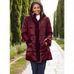 Faux-Fur Trim Puffer Coat by Tally Ho