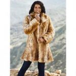 Luxury of Lynx Faux-Fur Coat by Luxe EY