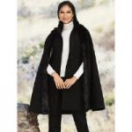 3-in-1 Faux-Fur Trim Cape Vest by Luxe EY