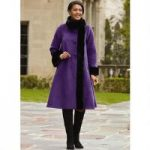 Elegance Swing Coat by Luxe EY