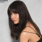Clip-In Human Hair Fringe/Bang Hair Piece by Hairdo
