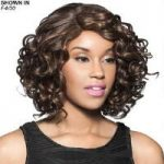Welsh Human Hair Blend Lace Front Wig by Foxy Lady