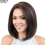 HBSL.Ebon Human Hair Blend Lace Front Wig by Motown Tress