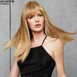 Fringe Top of Head Monofilament Topper Hair Piece by Hairdo