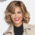Brave the Wave Lace Front Monofilament Wig by Raquel Welch
