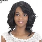 Delilah Remy Human Hair Lace Front Wig by Vivica Fox
