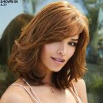 Blair Monofilament Lace Front Human Hair Wig by Amore