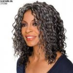 Glenda Monofilament Half Wig by Foxy Silver