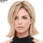 easiPart XL 8″ Remy Human Hair Topper Hair Piece by Jon Renau